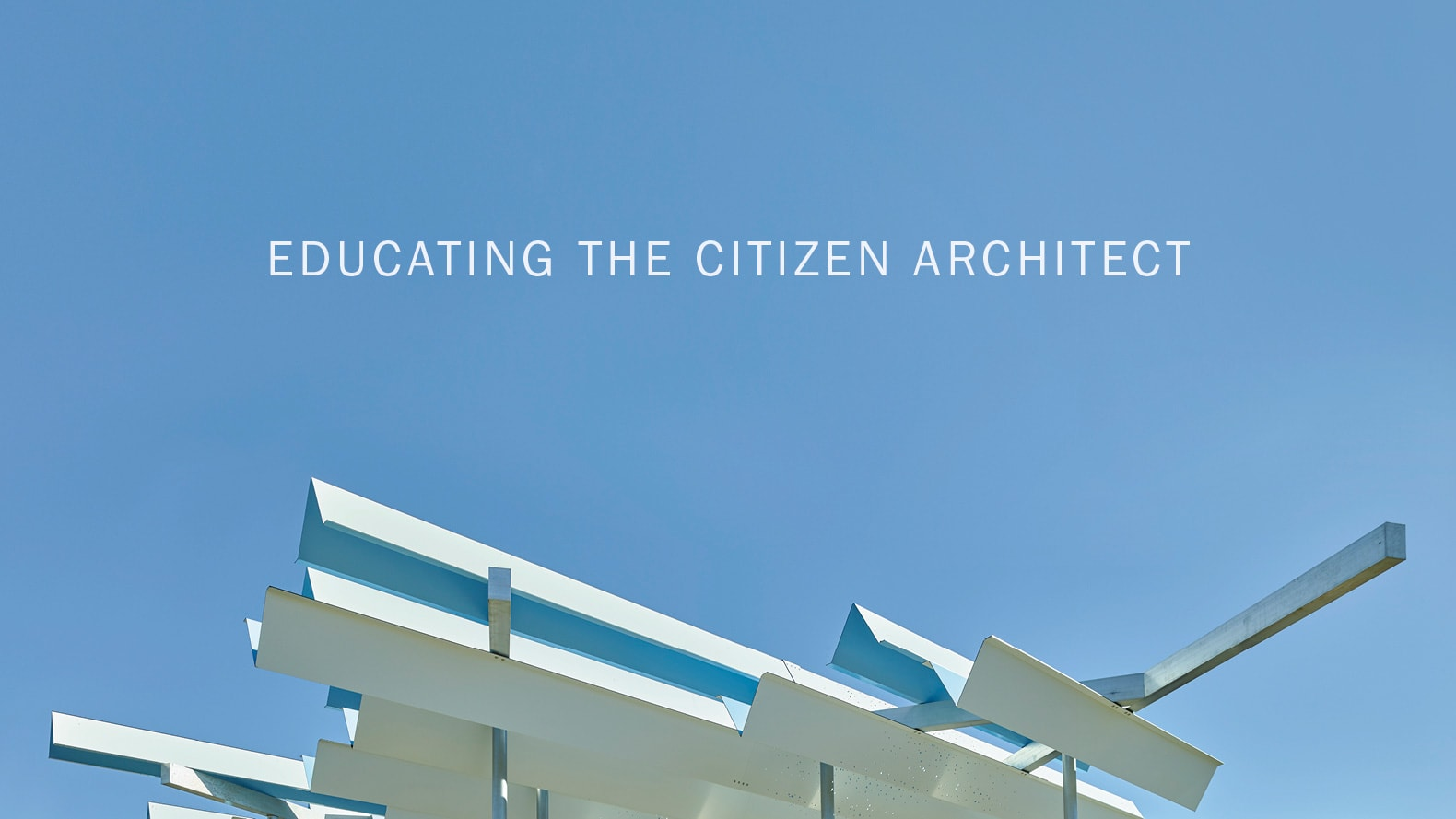 educating citizen architects