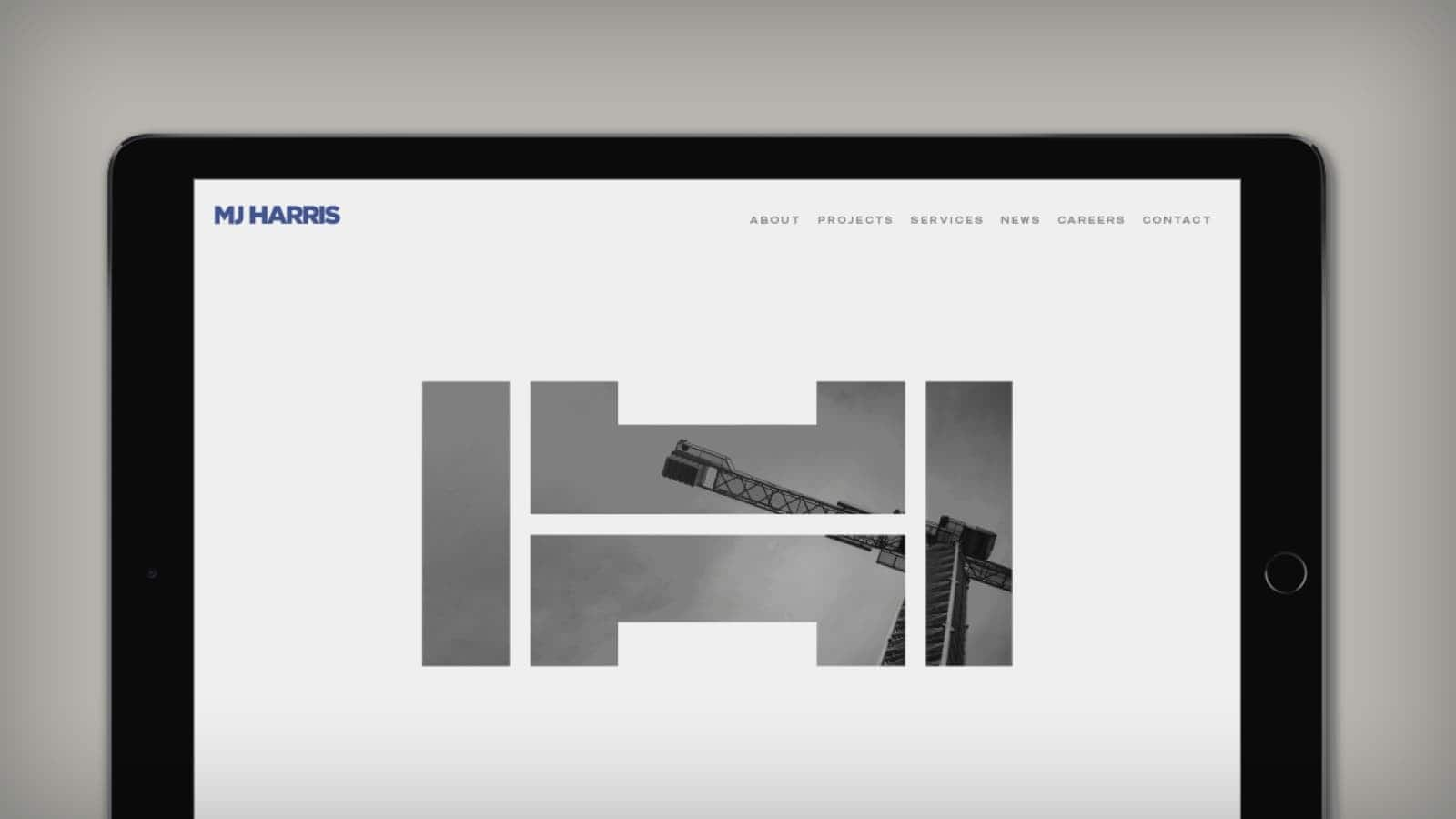 Newly Constructed, the M.J. Harris Website has Launched
